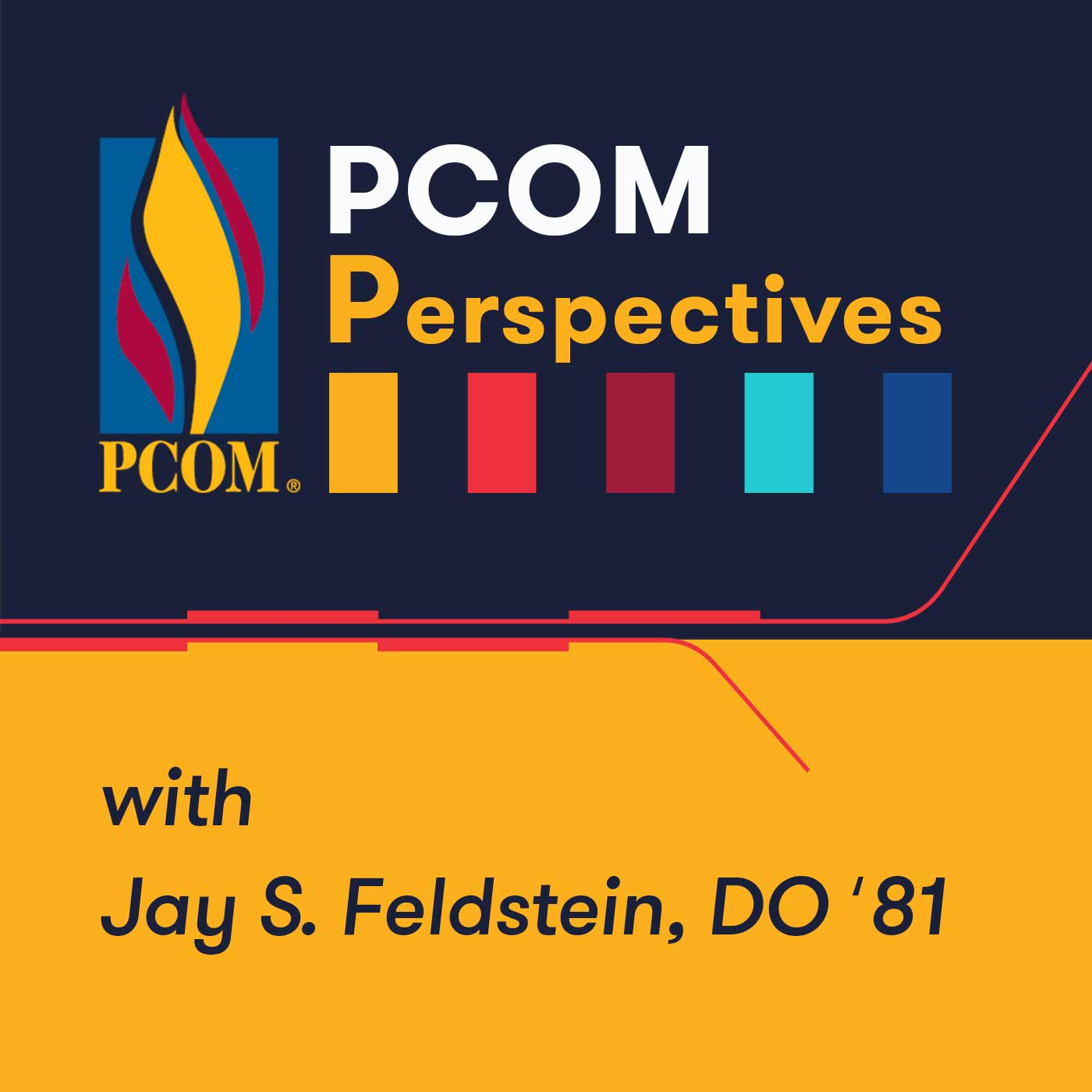 PCOM Perspectives podcast logo