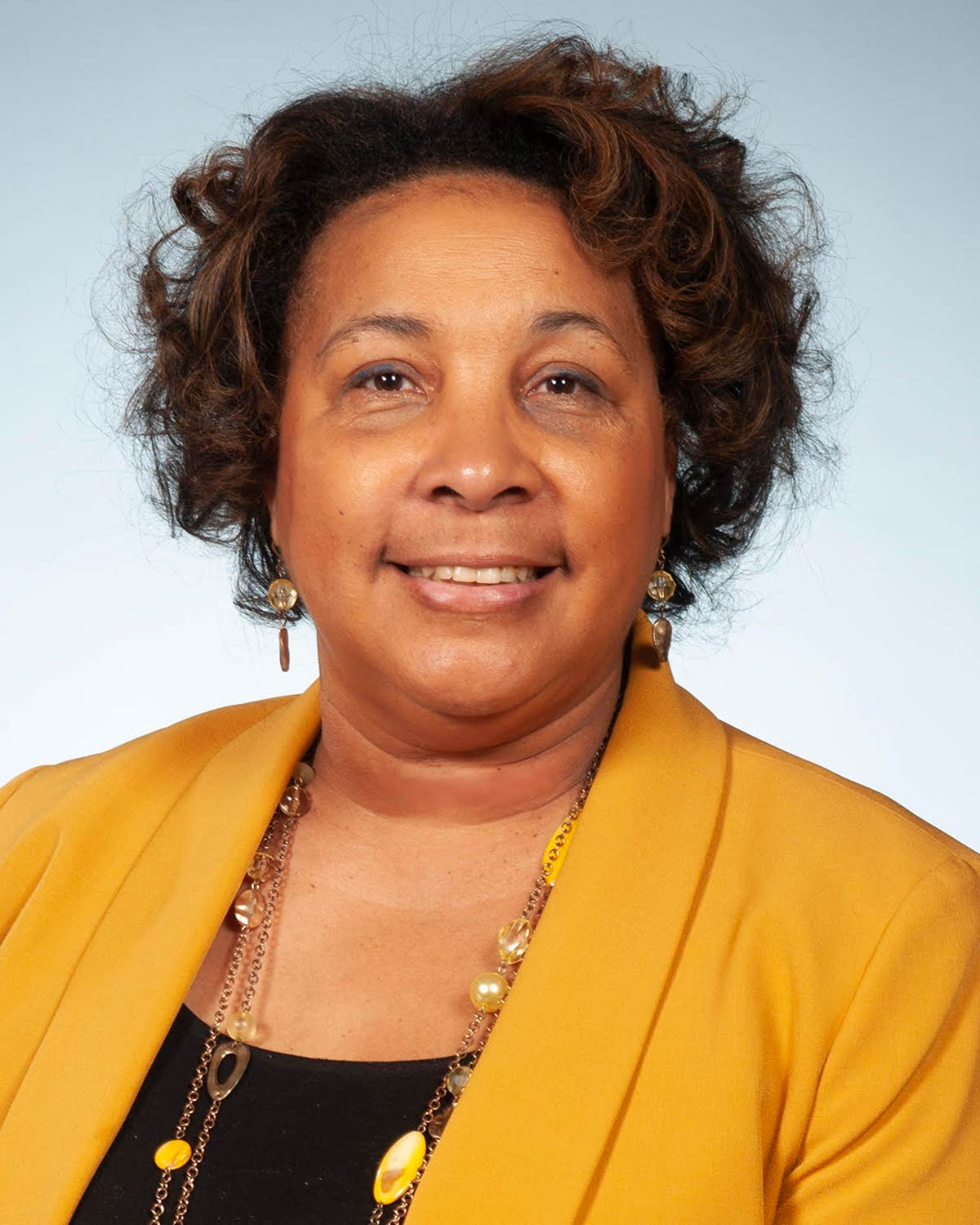 Professional headshot photograph of Marcine Pickron-Davis, PhD, PCOM's chief diversity officer