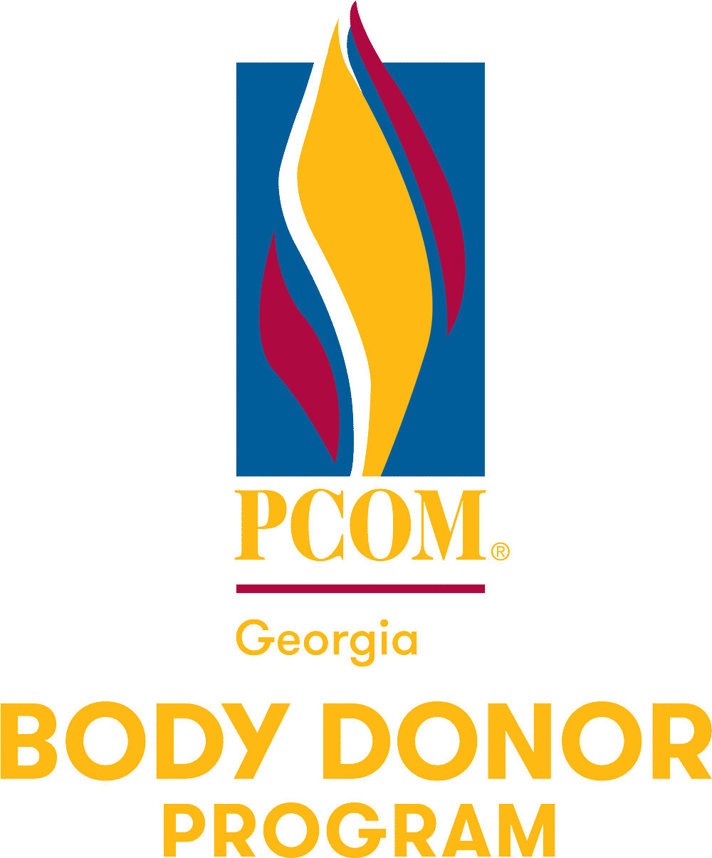 PCOM Georgia Body Donor Program logo