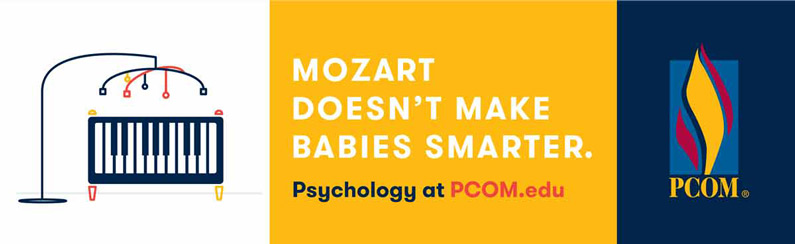 PCOM Outdoor Billboard - Mozart Doesn't Make Your Babies Smarter