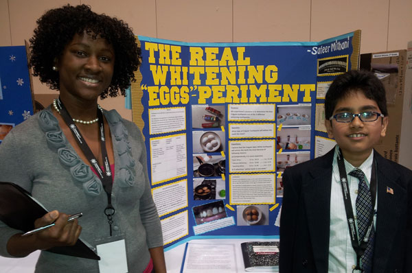 GA-PCOM Supports Gwinnett Regional Science and Engineering Fair