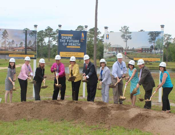 PCOM South Georgia grounbreaking