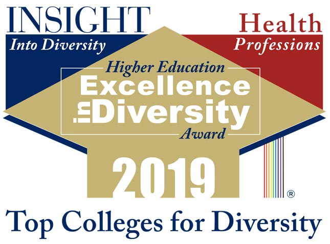 Logo for Insight Into Diversity Magazine's Higher Education Excellence in Diversity Award 2019
