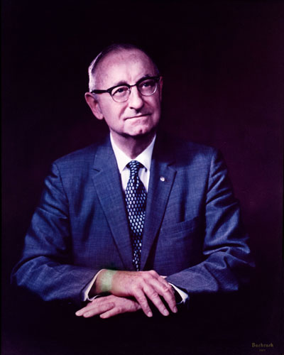 Frederic H. Barth became president of Philadephia College of Osteopathic Medicine in 1957.