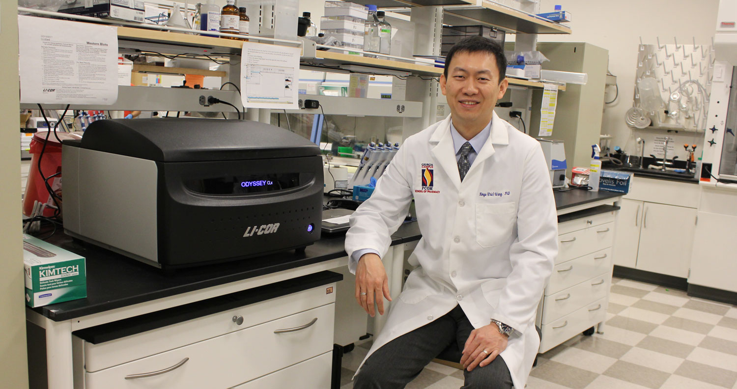 Dr. Xinyu (Eric) Wang was recently named a 2016 American Association of Colleges of Pharmacy (AACP) New Investigator Award recipient.
