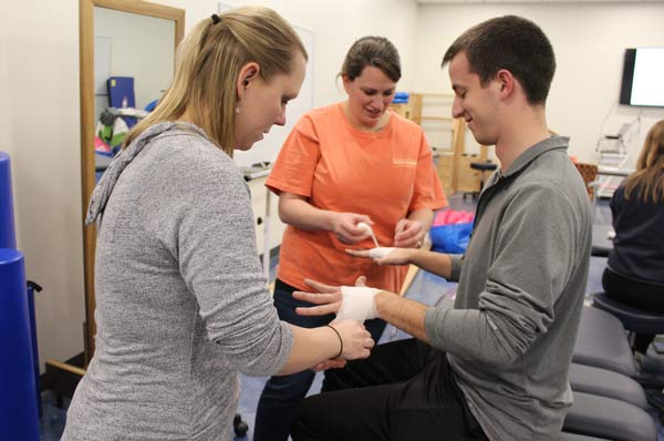 GA-PCOM's PT Department Hosts Lymphedema Workshop