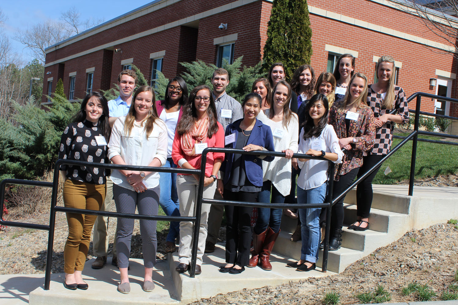 Physician Assistant Studies students