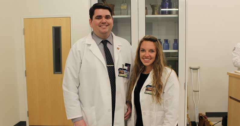 PCOM School of Pharmacy serves as residency site for two post-graduates from U.S. Department of Veteran Affairs