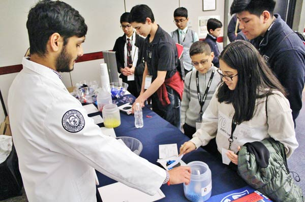 PCOM Georgia Supports the 2019 Gwinnett Science Fair