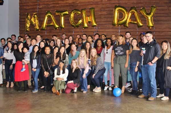 PCOM Georgia Students Celebrate Match Day