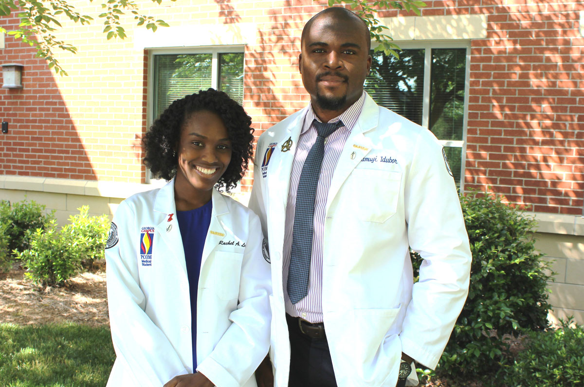 Two osteopathic medical students from Georgia Campus – Philadelphia College of Osteopathic Medicine (GA-PCOM) have recently been accepted into summer research fellowship and internship programs for medical students, sponsored by the National Institutes of Health (NIH).