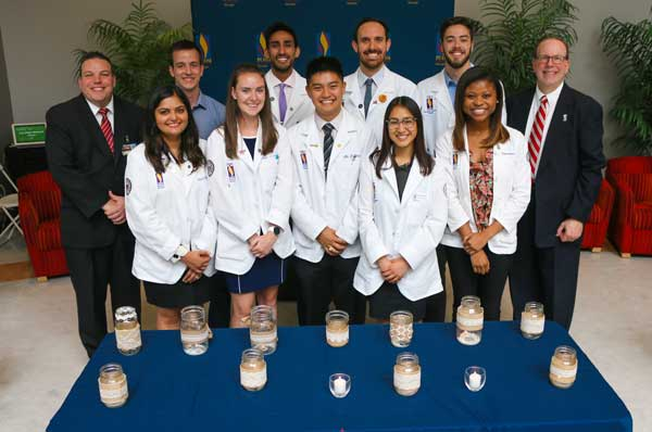Donors Honored by Students and Family Members