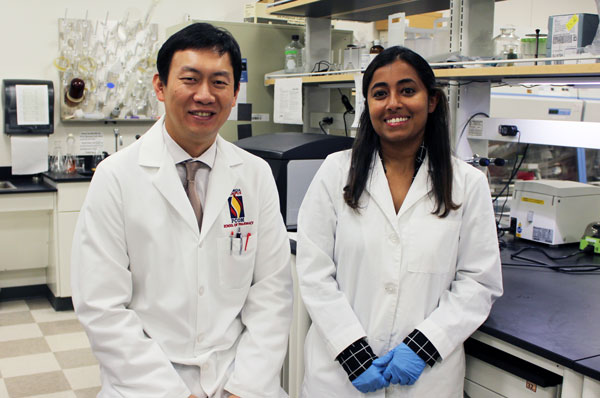 Teena John conducted research under Dr. Xinyu Wang.