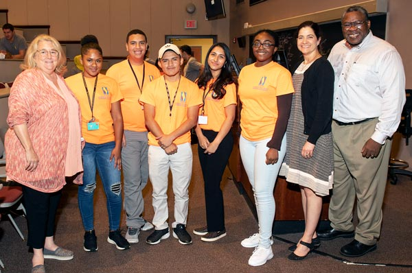 Local Youth Graduate from PCOM's Math and Science Summer Academy