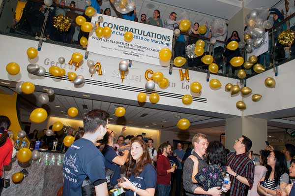 Match Day 2019 Recognized with First On-Campus Event