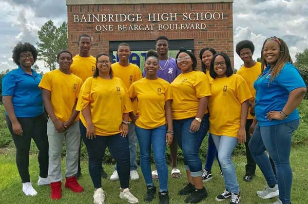 Bainbridge High Students Attend Health Career Collaborative