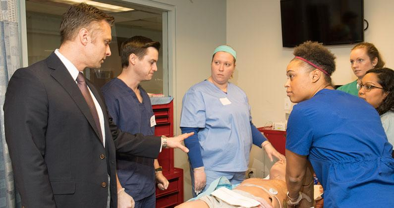 Surgery Weekend Highlights PCOM's Neurosurgery Residency Program
