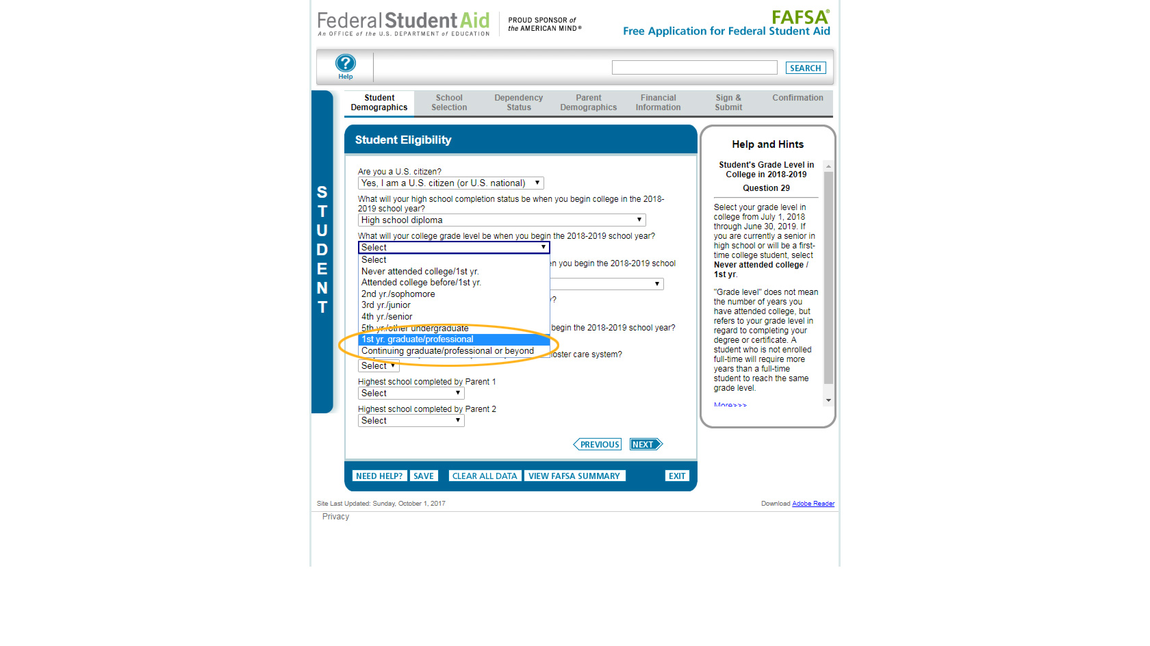 How to apply 2018 2019 financial aid at pcom fafsa screenshot ibookread Read Online