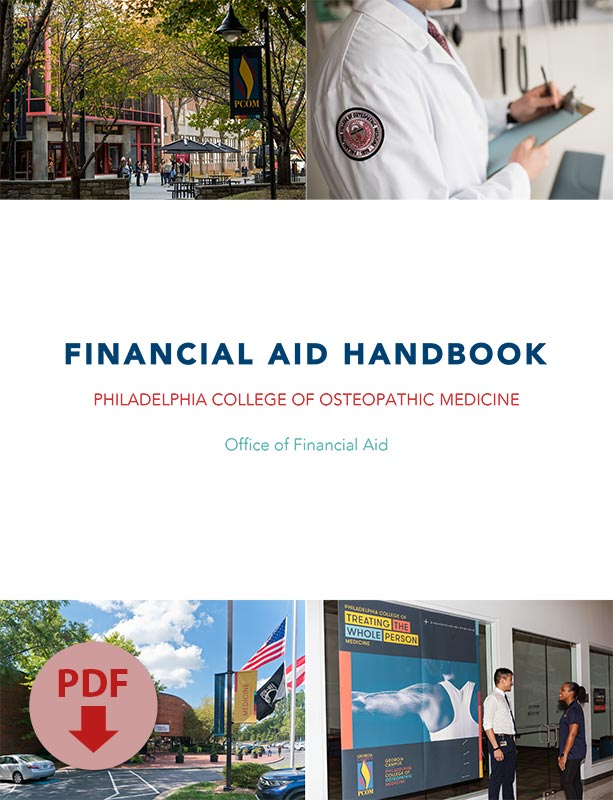 Image of the Cover of the Financial Aid Handbook PDF